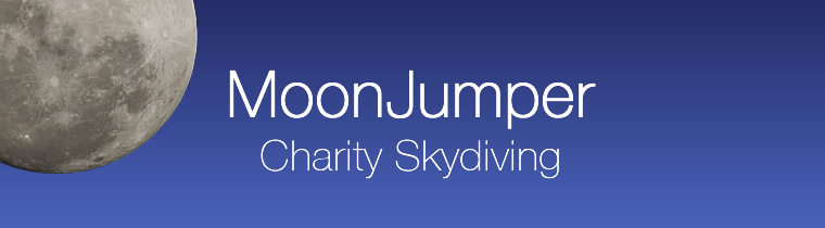 MoonJumper Skydiving Northern Ireland Logo